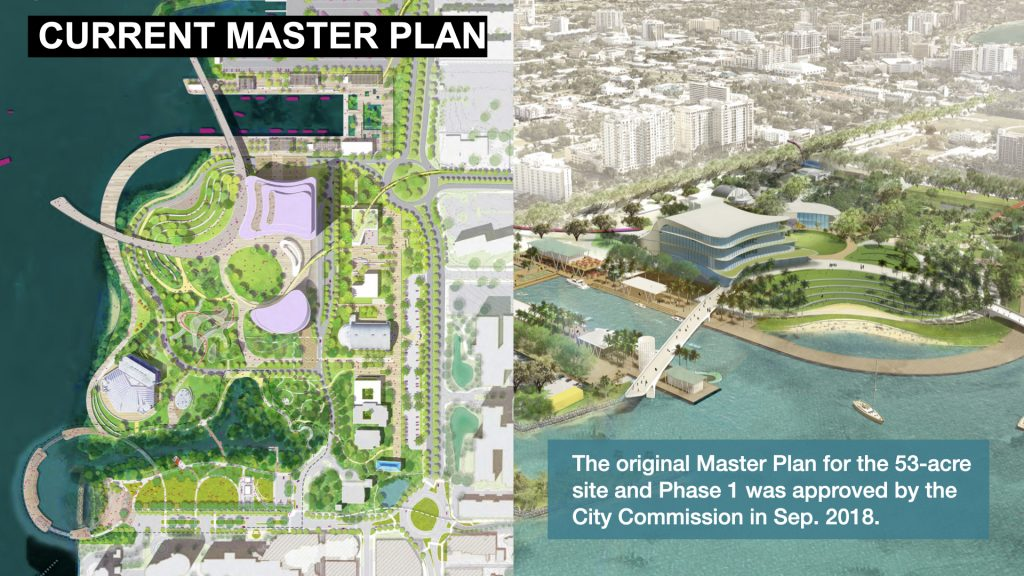 The original Master Plan for the 53-acre site and Phase 1 was approved by the City Commission in Sep. 2018.