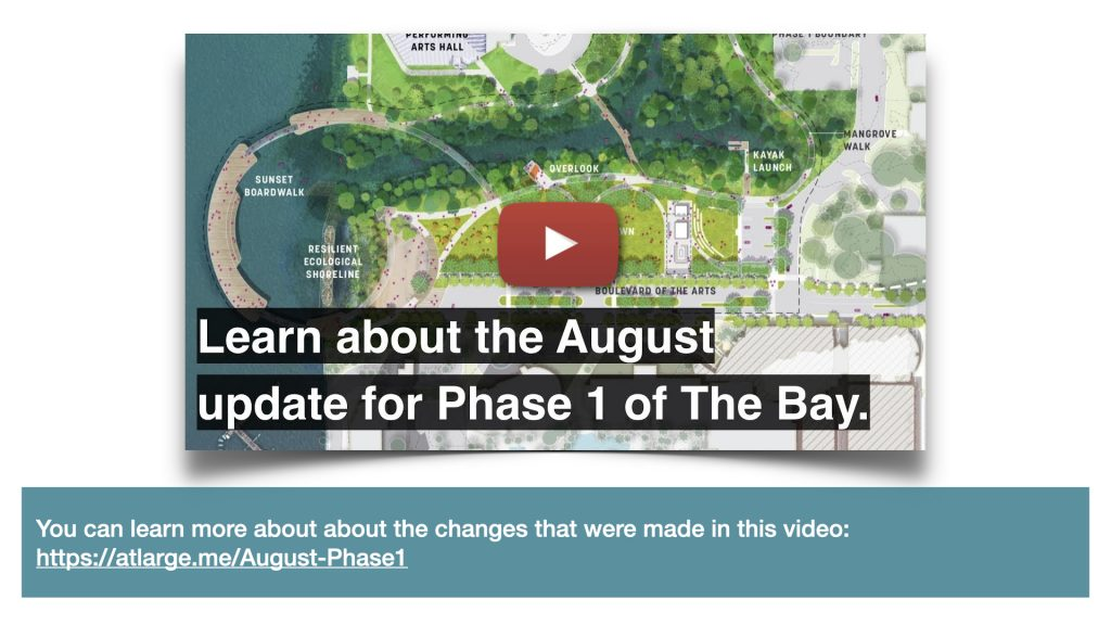 You can learn more about about the changes that were made in this video: https://atlarge.me/August-Phase1